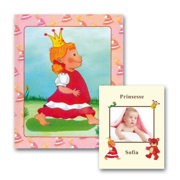 Babybogen Pige med Foto