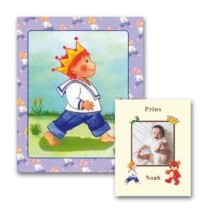 Babybogen Barnets første bog til drenge med foto