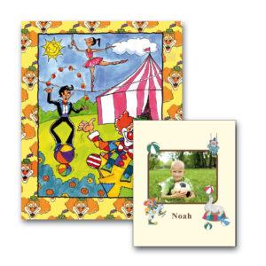 Cirkusbog med foto - børnebog