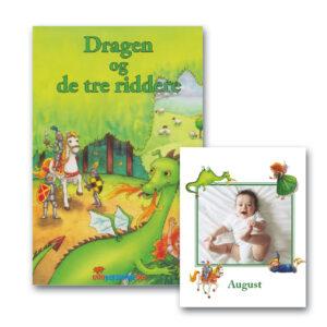 Dragen og de tre riddere - bog med navn