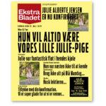 Ekstra Bladet konfirmation plakat vores pige