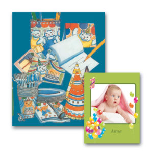 Fødselsdagsbogen - børnebog med navn og foto