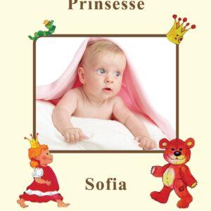 Fotoside til Babybogen - pige