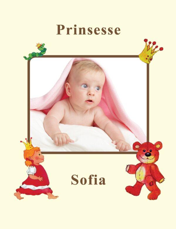 Fotoside Pige babybog