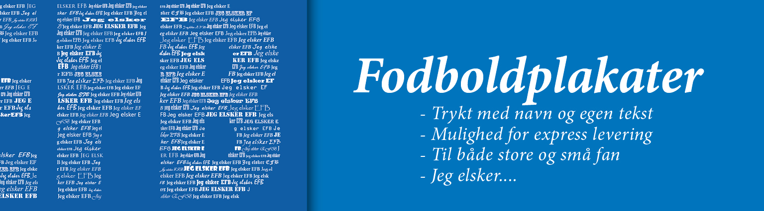 Fodbold plakater