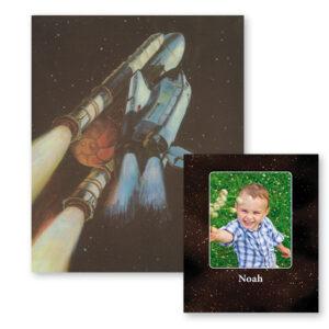 Rumbogen med foto - personlig bog - Min Personlige Gave