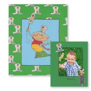 Trafikbogen - personlig børnebog om trafikken