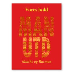 Manchester United plakat med navn