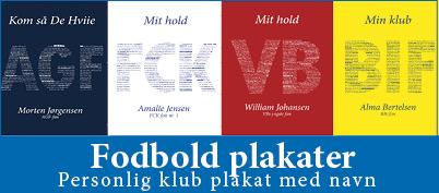 fodbold plakater med navn